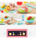 N / A Children's Kitchen Toys, Durable and Innovative Technology, Easy to Clean, Easy to Assemble, Beautifully Designed
