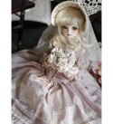 LWYJ Original Design 1/4 BJD Doll 44cm 17.32Inch Princess Dolls Ball Joints SD Doll with Full Set Clothes Shoes Wig Makeup Accessories Best Gift Anime Toys for Girls