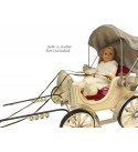 American Girl Pretty City Carriage for 18 Inch Dolls for Horse Toy Buggy NEW!