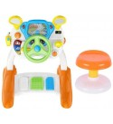 LXYFMS Children Simulation Simulation Driving Toy Baby Driving Toy Boy Early Education Steering Wheel Toy 3-6 Years Old Smart Toy