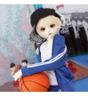 HGCY BJD Handmade Doll Student Reborn Dolls Jointed Doll DIY Toys DZ Dolls Clothes Accessories, Movable Joint Fashion Doll Suitable for Adults Or Children Toy Gift
