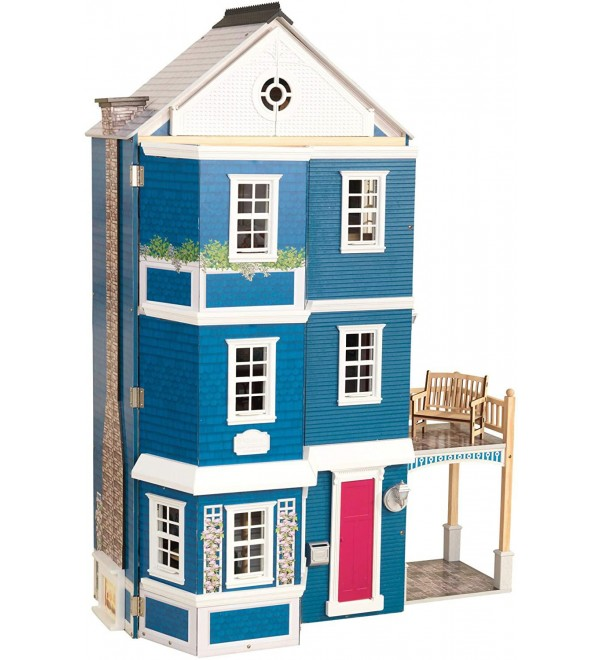 KidKraft Grand Anniversary Wooden Dollhouse with Furniture, Multicolor