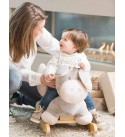 Nattou Rocking Horse from 1Year up with ping Strap, for Boys and Girls