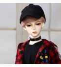 BJD Doll 1/3 Ball Mechanical Jointed Doll with Full Set of Clothes Coat Shoes Hair Socks Pants Accessories, Height 26.4In, Best Gifts for Boys and Girls