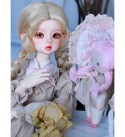MEESock French Style BJD Doll 1/4 SD Dolls 16.3 Inch Ball Jointed Doll DIY Toys, with Clothes Shoes Wig Makeup, Made of high-Grade Resin Material, Delicate and Smooth