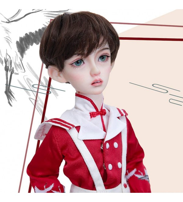 1/4 BJD Doll Full Set 41.3cm 16.25 inch Jointed SD Dolls with Clothes Wig Makeup Shoes Socks Accessories for Girs's Toy