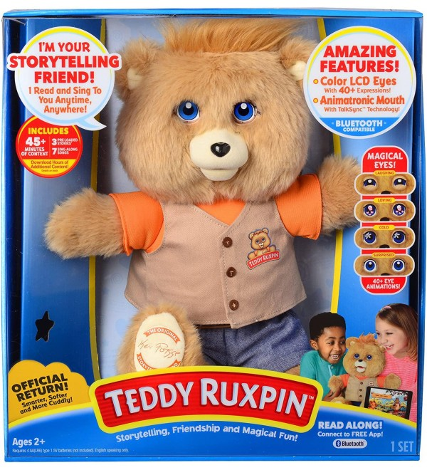 Teddy Ruxpin - Official Return of the Storytime and Magical Bear