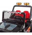 Lil' Rider Ride On Toy All Terrain Vehicle, 12V Battery Powered Sporty Truck with Lights, Sounds, MP3 & Remote Control- for Boys and Girls (Black)