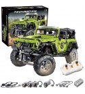 GRTVF Remote Control Building Blocks Green Off-road Vehicle Building Blocks Remote Control Version of Technology Machinery Group Assembled Model Toys, Birthday Toy Gift for 8-12 Year Old Boys, 2343pcs