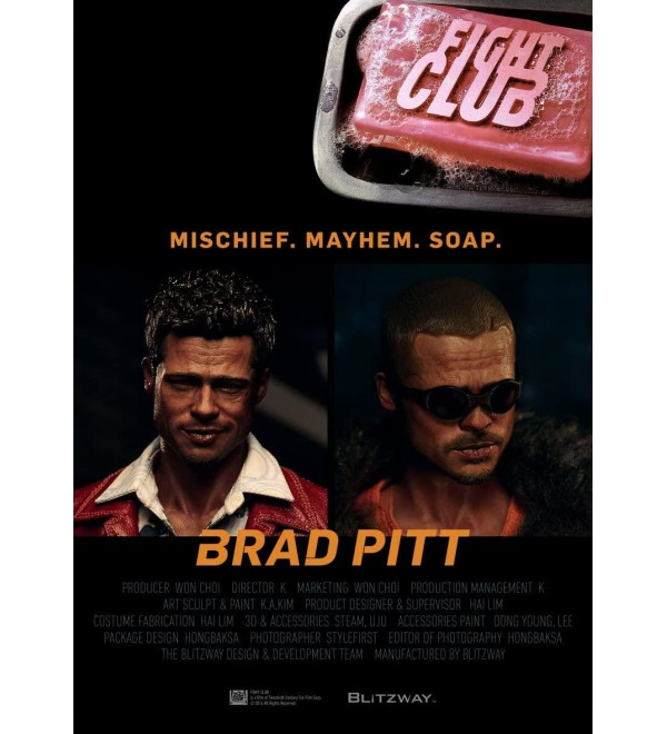 Blitzway 1/6 Scale Tyler Durden Special Fight Club Statue (2 Pack)