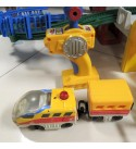 Geotrax Grand Central Station Terminal with Aero and Eric and Exclusive Bonus 3 Piece Set