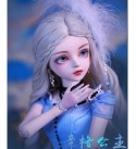 BJD Doll 1/3 SD Dolls 23.6 Inch 60cm Ball Jointed Doll with All Clothes Wigs Shoes Makeup Accessories DIY Toys 100% Handmade for Girl Birthday Gift
