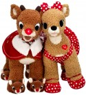 Biild a Bear 2010 Rudolph the Red Nose Reindeer & Clarice 18