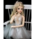 MZBZYU 1/3 BJD Doll 60Cm/23.62 Inch Ball Jointed Dolls Wedding Princess Doll Full Set Accessories Clothes Shoes Hair Surprise for Child Male and Female Couple