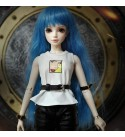 YJJ BJD Doll 1/4 Original Design SD Dolls Handmade DIY Toys + Full Set Clothes Shoes Wig Makeup Fashion Doll for Girls Birthday Christmas Best Gifts (with Gift Box)