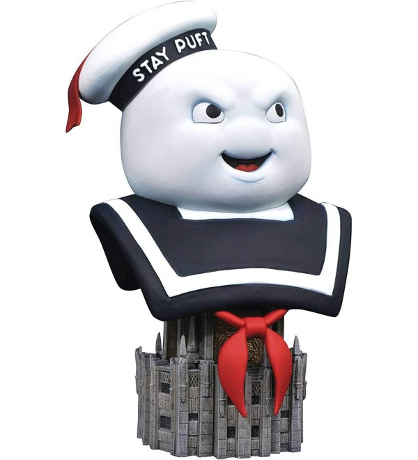 DIAMOND SELECT TOYS Ghostbusters: Mr. Stay-Puft Legends in 3-Dimensions 1:2 Scale Bust, Multicolor, 10 inches