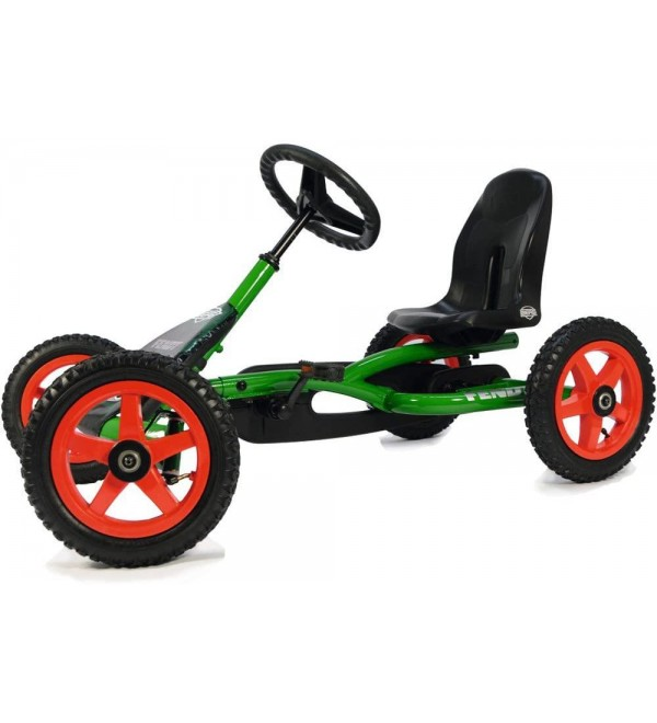 Berg Pedal Car Buddy Fendt   Pedal Go Kart, Ride On Toys for Boys and Girls, Go Kart, Outdoor Games and Outdoor Toys, Adaptable to Body Lenght, Pedal Cart, Go Cart for Ages 3-8 Years