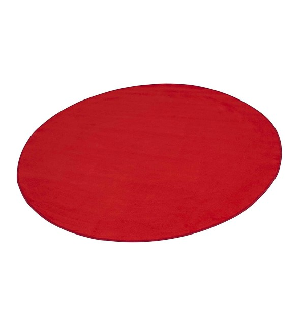 Learning Carpets Red Solid Rug, 108