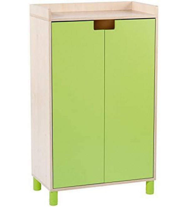 Nathan Clorofile Storage Unit with Doors, Green