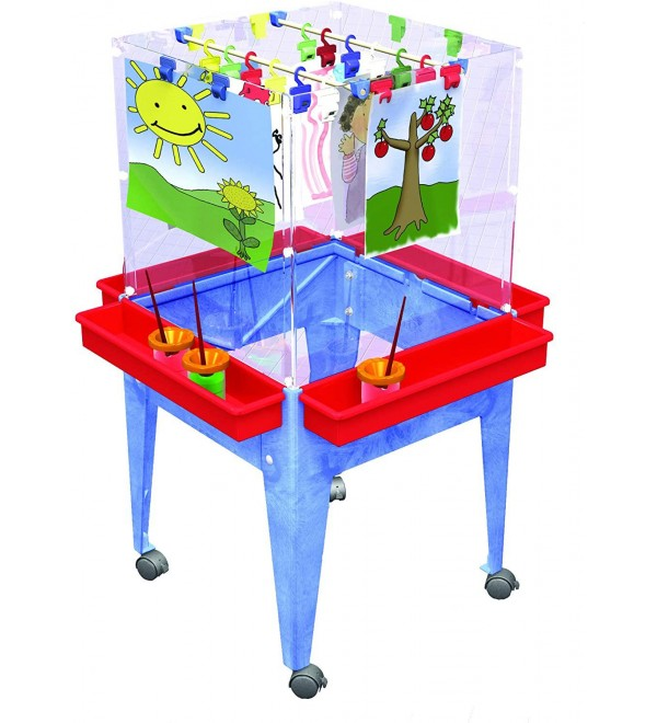 Cicada Education 4-Sided Space Saver Easel