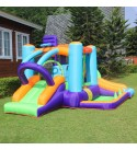 AirMyFun Inflatable Bounce Castle Toddler Bounce House with Blower Bouncy House with for Kids Outdoor Party