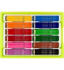 Jolly Supersticks Premium European Aqua Watercolor Pencils with Stackable Storage Box; 288 Pencils (24 each of 12 core colors), Arts and Crafts, Perfect for Adult and Kids Coloring