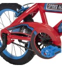 Huffy Marvel Spider-Man Kid Bike Quick Connect Assembly, Handlebar Plaque & Training Wheels, 16