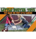 Little Buster Toys Sweep Alley - Separate Pens and Cattle Feeders Fully Functioning Gates, 1/16th Scale