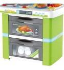 MDYYD Play Kitchen Children Kids Play Kitchen Children Cooking Pretend Role Play Child Toy for Preschool Kitchen Toys (Color : Green, Size : 44x28x69.5cm)
