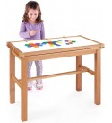 Guidecraft Solid Wood Standing Table for Kids - Classroom, Playroom, Office Furniture