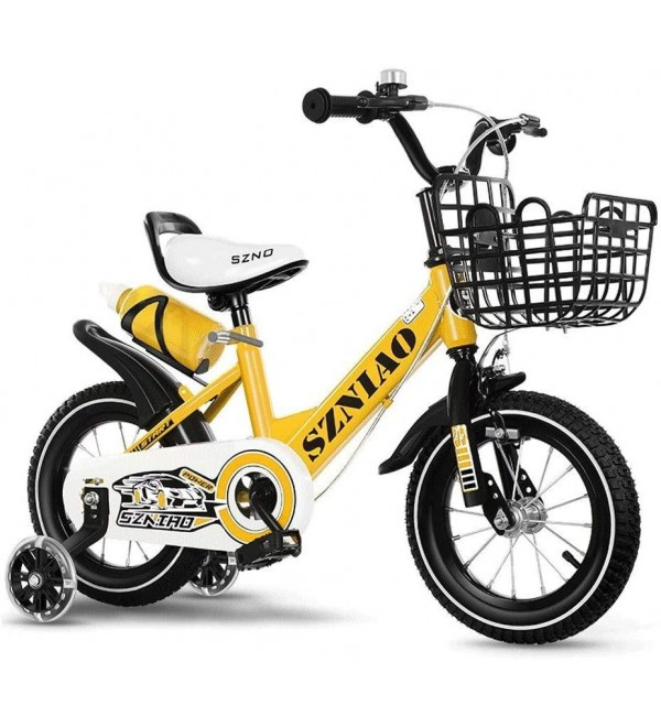 HUANJIA Children's Bicycle 12/14/16/18/20 Inch Bike 2-3-5-7-8-9-10 Years Old Boys and Girls Children Preschool Kids' Bikes (Color : C, Size : 20 inches)