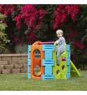 ECR4Kids Activity Jungle Gym Climber for Kids and Toddlers - Indoor or Outdoor Plastic Playset for Children - Backyard Toy, Slide, Hide & Play