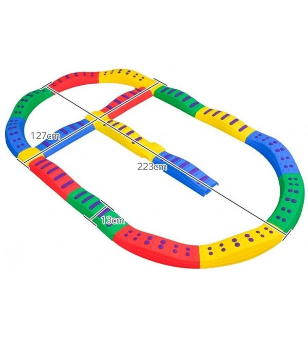 ZHANGYN Balance Stone Athletic Balance Player Balance Beams for Kids Improves Coordination & Strength Kids Preschool Learning Toy