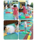 DYYD Balance Blocks Gym Toys for Kids Improves Coordination & Strength Kids Preschool Learning Toy Stepping Stones for Kids