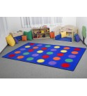 Learning Carpets Seating Dots 108