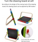 Preschool Toys Baby Toddler Toys Household Magnetic Doublesided Drawing Board Toy Writing Board Handwriting Doodle Drawing Pad Early Learning Toy for Toddlers Girls Boys Gift ( Color : 3pieces )